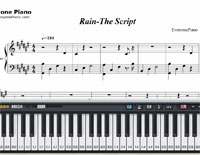 Rain-The Script-Free Piano Sheet Music