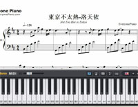 It Is Not Too Hot in Tokyo-Luo Tianyi-Free Piano Sheet Music