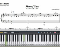 Man of Steel-Free Piano Sheet Music