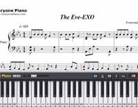 The Eve-EXO-Free Piano Sheet Music