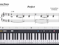 Perfect-Ed Sheeran-Free Piano Sheet Music
