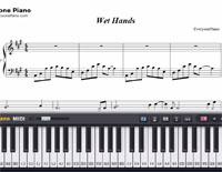 Wet Hands Sheet Music - Www imagez co