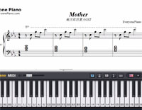 Mother-Kikujiro OST-Free Piano Sheet Music