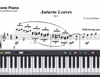 Autumn Leaves-Joseph Kosma-Free Piano Sheet Music