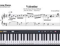 Valentine-Jim Brickman and Martina McBride-Free Piano Sheet Music
