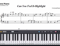 Can You Feel It-Highlight-Free Piano Sheet Music