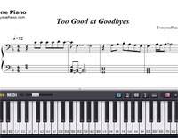 Too Good at Goodbyes-Sam Smith-Free Piano Sheet Music