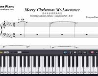 Merry Christmas Mr Lawrence-Ryuichi Sakamoto Free Piano Sheet Music & Piano Chords