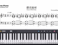 Face It Bravely-Luo Tianyi-Free Piano Sheet Music