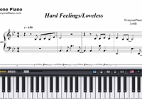 Hard Feelings Loveless-Lorde-Free Piano Sheet Music