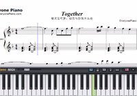 Together-Pocket Monsters Diamond and Pearl OP-Free Piano Sheet Music
