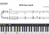 HIM-Sam Smith-Free Piano Sheet Music