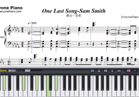 One Last Song-Sam Smith-Free Piano Sheet Music