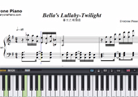Bella's Lullaby-Twilight-Free Piano Sheet Music