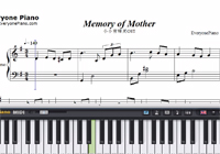 Memory of Mother-A Little Snow Fairy Sugar OST-Free Piano Sheet Music