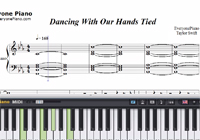 Dancing With Our Hands Tied-Taylor Swift-Free Piano Sheet Music