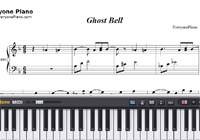 Ghost Bell-Mahōtsukai no Yoru BGM-Free Piano Sheet Music