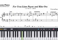 For You-Fifty Shades Freed Main Theme-Free Piano Sheet Music