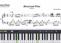 Blood and Wine-The Witcher 3-Free Piano Sheet Music