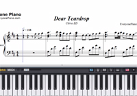 Dear Teardrop-Citrus ED-Free Piano Sheet Music