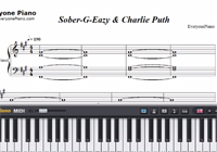 Sober-G-Eazy ft Charlie Puth-Free Piano Sheet Music