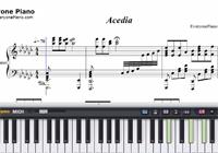 Acedia-初音ミク楽譜ピアノ学習