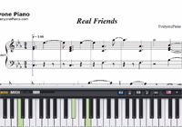 Real Friends-Camila Cabello-Free Piano Sheet Music