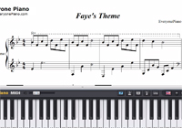 Faye's Theme-Kan R. Gao-Free Piano Sheet Music
