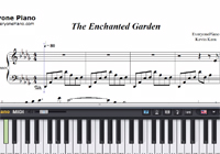 The Enchanted Garden-Kevin Kern-Free Piano Sheet Music