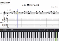The Mirror Lied-The Mirror Lied BGM-Free Piano Sheet Music