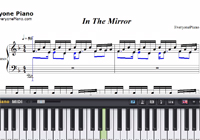 In the Mirror-Yanni-Free Piano Sheet Music