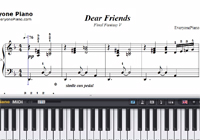 Dear Friends-Final Fantasy 5 OST-Free Piano Sheet Music