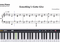 Something's Gotta Give-Camila Cabello楽譜ピアノ学習