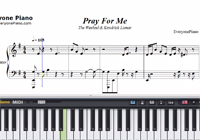 Pray for Me-Black Panther OST-Free Piano Sheet Music