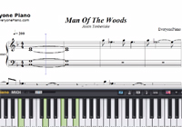Man Of The Woods-Justin Timberlake-Free Piano Sheet Music