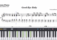 Good-bye Baby-Miss A-Free Piano Sheet Music