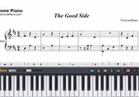 The Good Side-Troye Sivan-Free Piano Sheet Music