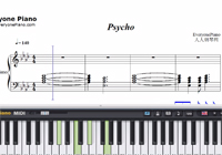 Psycho-Post Malone and Ty Dolla Sign-Free Piano Sheet Music