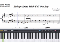 Bishops Knife Trick-Fall Out Boy-Free Piano Sheet Music