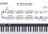 It's all in the game-Boruto: Naruto Next Generations OP3-Free Piano Sheet Music