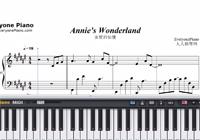 Annie's Wonderland-Free Piano Sheet Music