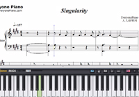 Singularity-BTS-Free Piano Sheet Music