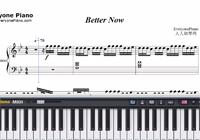 Better Now-Post Malone-Free Piano Sheet Music