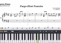 Fuego-The Eurovision Song Contest 2018-Free Piano Sheet Music