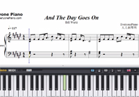 And the Day Goes On-Bill Wurtz-Free Piano Sheet Music
