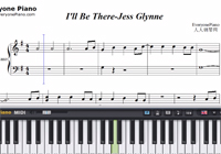 I'll Be There-Jess Glynne-Free Piano Sheet Music