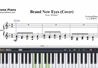 Brand New Eyes-Wonder Theme-Free Piano Sheet Music