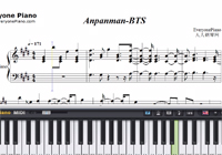 Anpanman-BTS-Free Piano Sheet Music