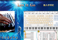 Let It Go Super Easy Version-Frozen Theme-Everyone Piano Show