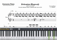 Bohemian Rhapsody Perfect Version-Maksim Mrvica-Free Piano Sheet Music